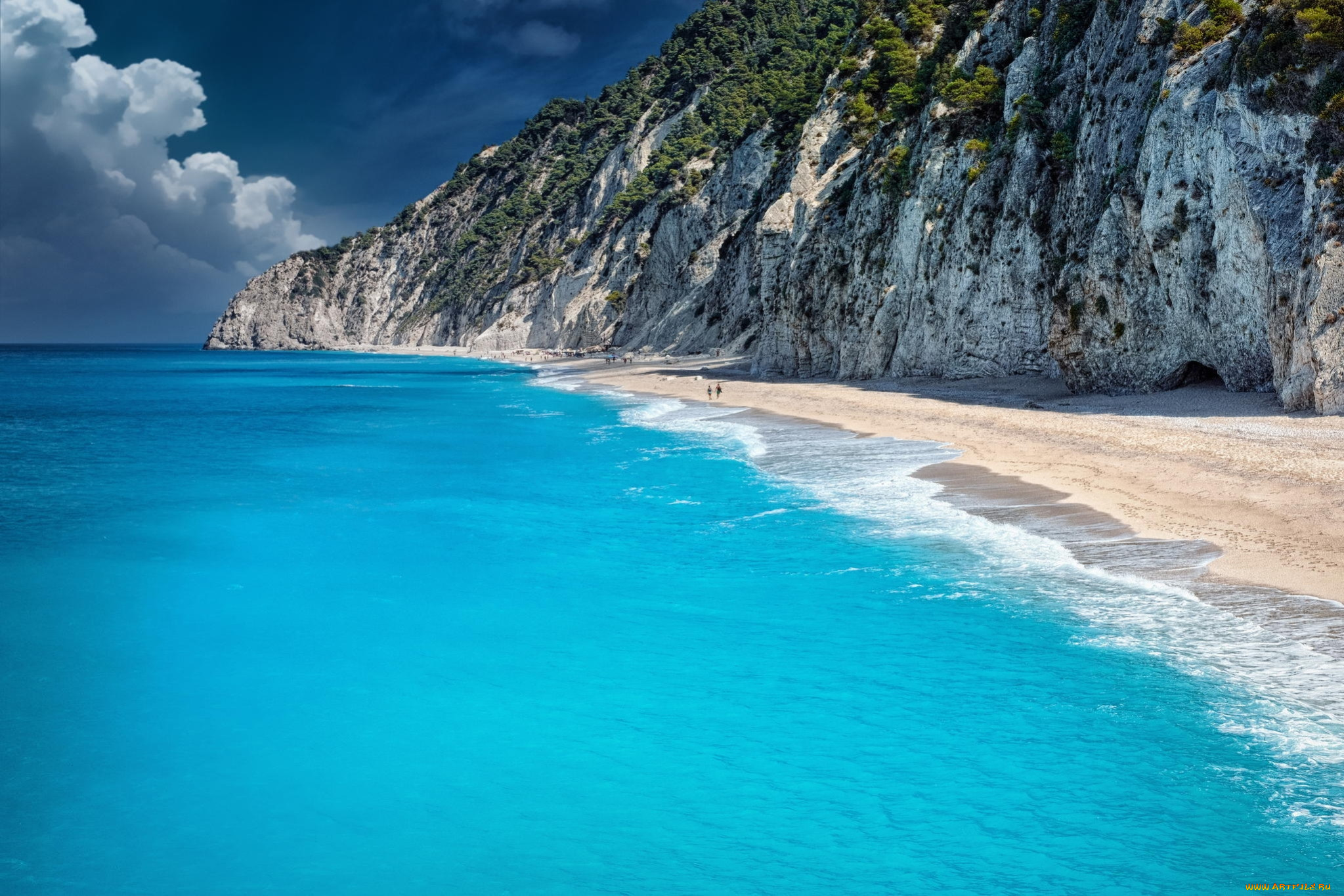 бесплатно фото море океан пляж зона чистая ухоженная